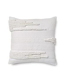 Textured Stripe Decorative Pillow