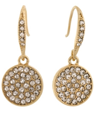 Pave Stones Drop Earring
