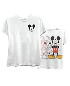 Juniors' Mickey Boyfriend T-Shirt