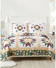 Foraged Flora 3-Piece King Quilt Set