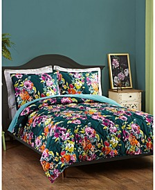Bari J by Botanist 3-Piece Full/Queen Quilt Set