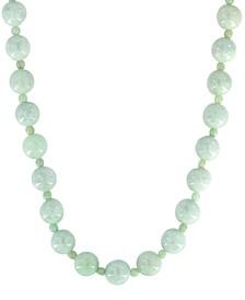 "EFFY® Jade (12 & 4mm) Bead 18"" Statement Necklace"