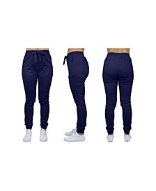 Women's Basic Stretch Twill Joggers