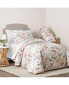 Carmela 3 Piece Comforter Set, Full/Queen