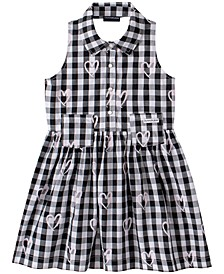 Baby Girls Gingham Cotton Halter Dress