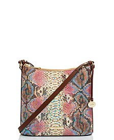 Katie Reina Embossed Leather Crossbody