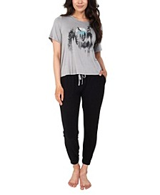 Picturesque Tee & Jogger Loungewear Set, Online Only