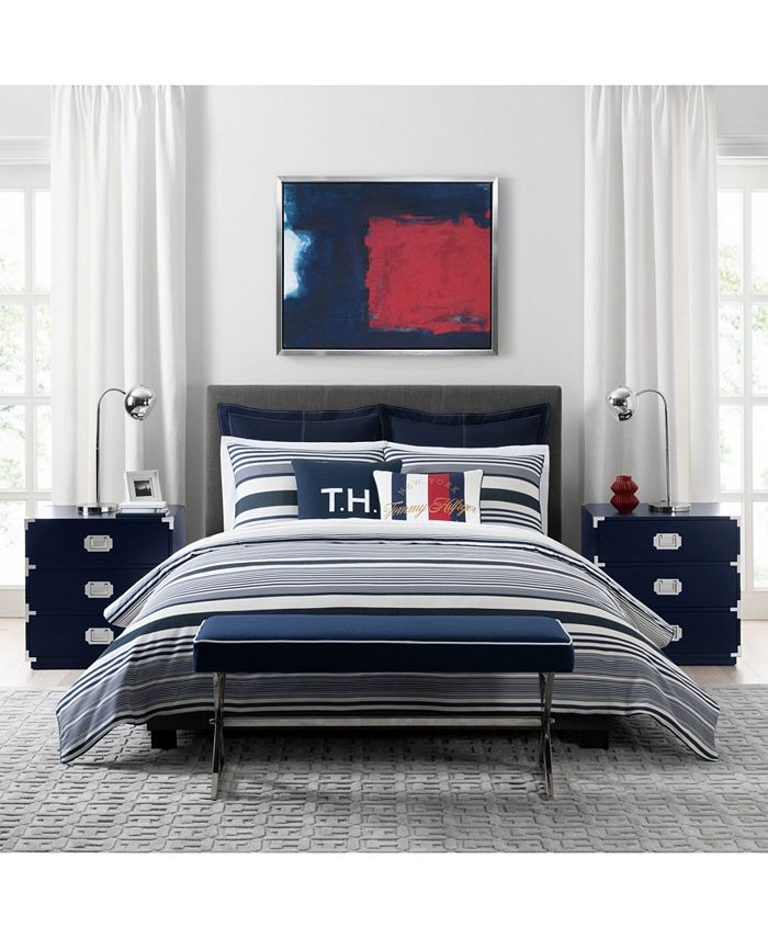 Tommy Hilfiger - Island Stripe Twin Comforter Set