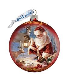 Abundance of Joy Glass Ornament Limited Edition by Donna Gelsinger