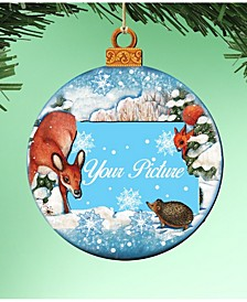 Ball Ornament Picture Frame Set of 2