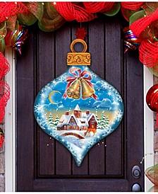 Winter Drop Ornament Christmas Door Hanger