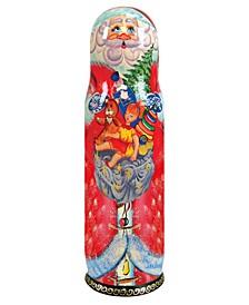 Santa Reader Gift Bag Wine Bottle Gift Box