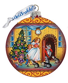 Story of Clara and The Nutcracker Limited Edition Hand Painted Glass Ornament