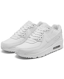 Nike Big Kids Air Max 90 Leather Running Sneakers from Finish Line