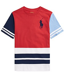 Big Boys Color-Blocked Cotton T-shirt