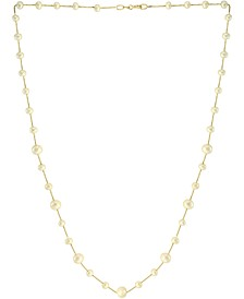 """EFFY® Cultured Freshwater Pearl (4-6mm) Beaded 18"""" Statement Necklace in 14k Gold"""