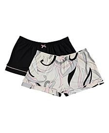 Flora Women's Anastasia 2-pk Pajama Shorts