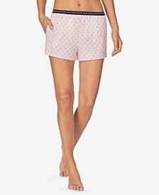 Women's Printed Pajama Boxer Shorts