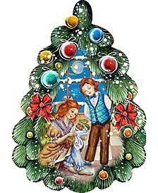 Nutcracker Christmas Tree Door Hanger
