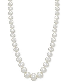 "Cultured Freshwater Pearl (4-1/2 - 8-1/2mm) Graduated 18"" Strand Necklace"