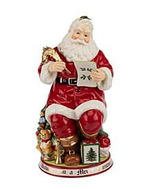 Christmas Tree Santa Cookie Jar