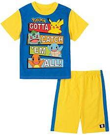 Pokemon Big Boy 2 Piece Pajama Set