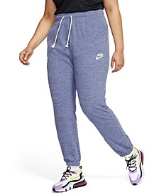 Plus Size Sportswear Gym Vintage Pants