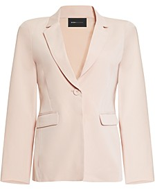 Tailored One-Button Blazer