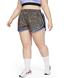 Plus Size Tempo Icon Clash Running Shorts