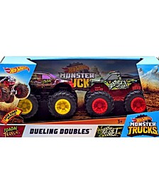 CLOSEOUT! Hot Wheels monster trucks dueling doubles™ Splatter time