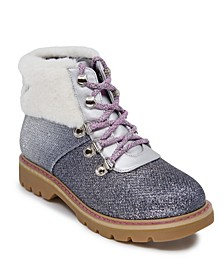 Little Girls Glitter Hiker Bootie