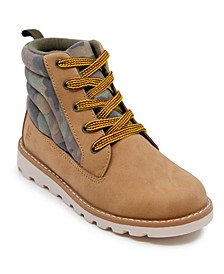 Little Boys Camo Work Boot