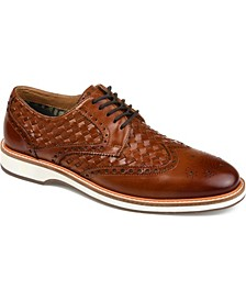 Men's Radcliff Woven Wingtip Derby Shoe