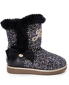 Little Girls Glitter Boot
