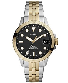 FB-01 Three-Hand Date Two-Tone Stainless Steel Watch 36mm