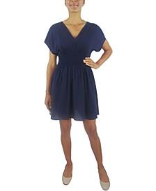 Juniors' Fit & Flare Dress