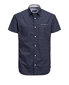 Men's All Over Printed Short Sleeve Shirt