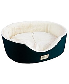 Cat Bed Oval Pet Cuddle House