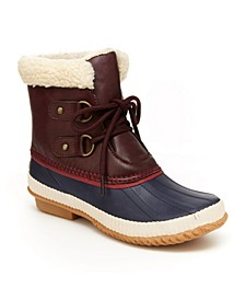 Cleveland Women's Ankle Duck Boots