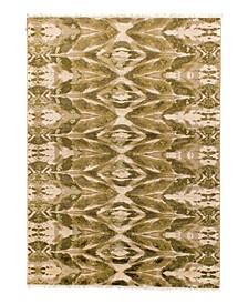 Cosmic Glow Vintage-Inspired GG106 Green 8' x 10' Area Rug
