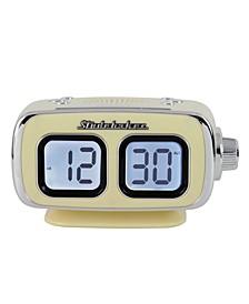 SB3500CR Roommate Retro Digital Bluetooth AM/FM Clock Radio