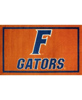 "Florida Colfl Orange 1'8"" x 2'6"" Area Rug"