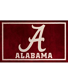 "Alabama Colal Crimson 5' x 7'6"" Area Rug"
