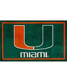 "Miami Colma Green 3'2"" x 5'1"" Area Rug"