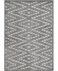"""Bourne South To West Silver 7'9"""" x 10'10"""" Area Rug"""