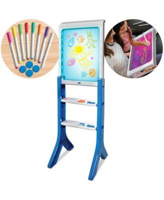 Discovery Kids Toy Easel Floor Standing Light Designer