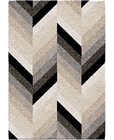 "Prime Shag Glass Chevron Multi 7'10"" x 10'10"" Area Rug"