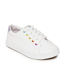 Big Girls Casual Lace Up Sneaker