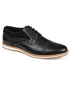 Griff Men's Cap Toe Brogue Derby Shoe