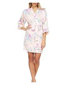Women's Bonnie Floral Wrap Robe